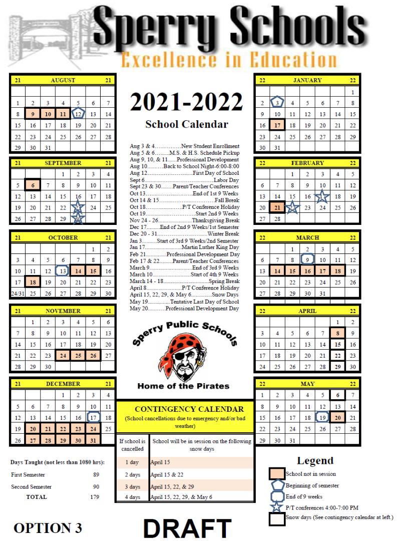 Denton Isd Calendar 2022.Sperry Public Schools 2021 2022 Sperry School Calendar Survey
